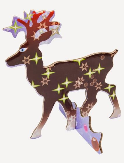 Pop Out Reindeer Card