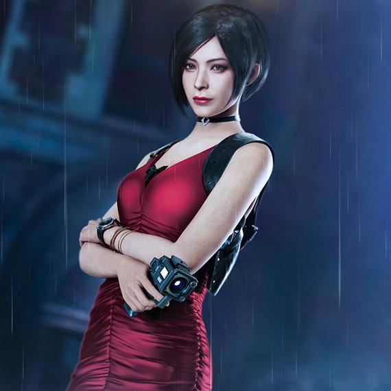 Ada Wong - Resident Evil 2 Wallpaper Engine