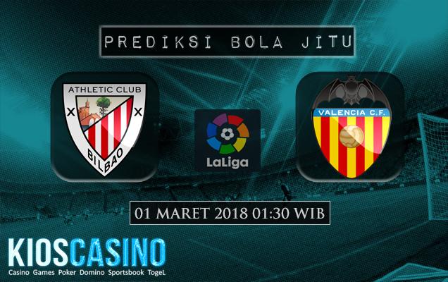 Prediksi Skor Ath. Bilbao vs Valencia 01 Maret 2018
