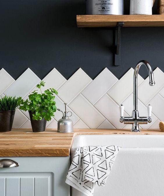 Jak Wykończyć ścianę W Kuchni Cegiełka Mozaika Lacobel