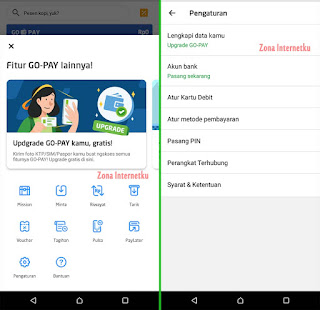 Cara Mudah Upgrade (Verifikasi) Akun GoPay Di GoJek