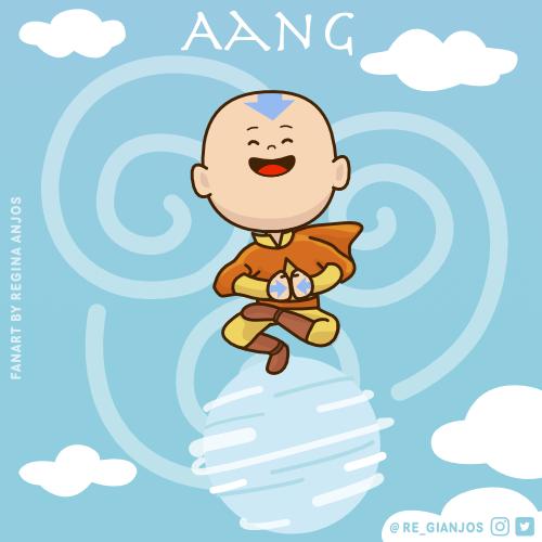 Kawaii Aang Jigsaw Puzzle