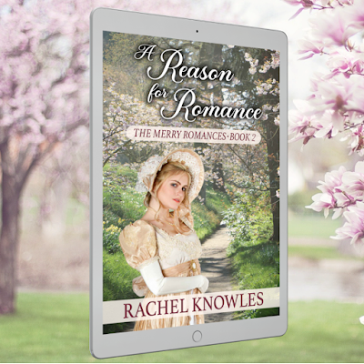 Kindle cover of A Reason for Romance (2021) by Rachel Knowles