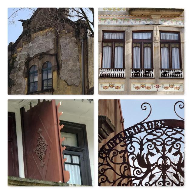 pormenores da arquitetura do Porto