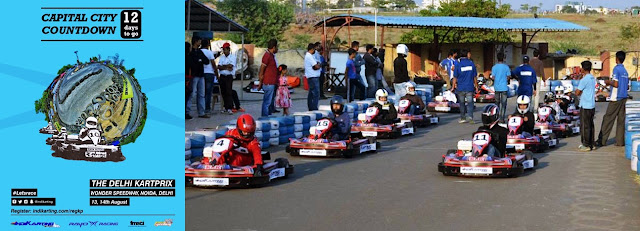 Noida Diary: Indikarting Delhi Kart Prix at Wonder Speedway Noida