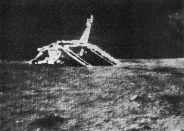 Il modulo di allunaggio della missione Luna 17.