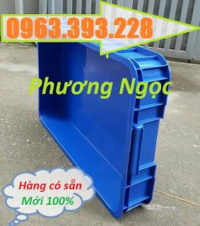 Thùng nhựa đặc HS025, thùng nhựa công nghiệp,sóng nhựa bít HS025 T%25C4%25905