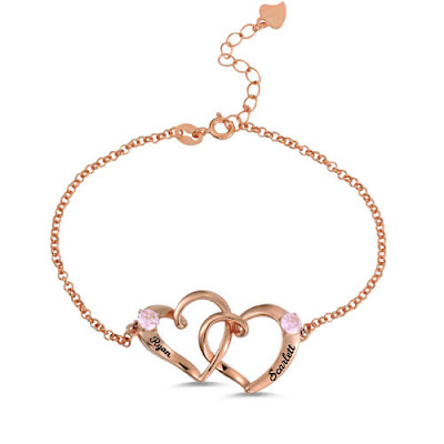 https://www.getnamenecklace.com/custom-double-heart-engraved-name-bracelet-in-rose-gold