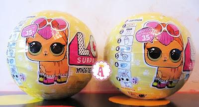 Как выглядят оригинальны шары ЛОЛ Сюрприз с питомцами фирмы MGA