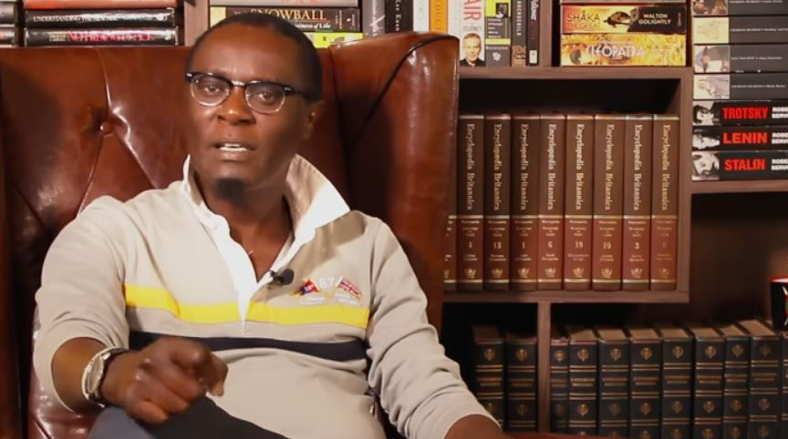 Mutahi Ngunyi Wants Raila Charged With High Treason