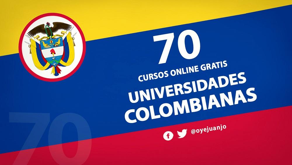 70 Cursos Online Gratis De Universidades Colombianas