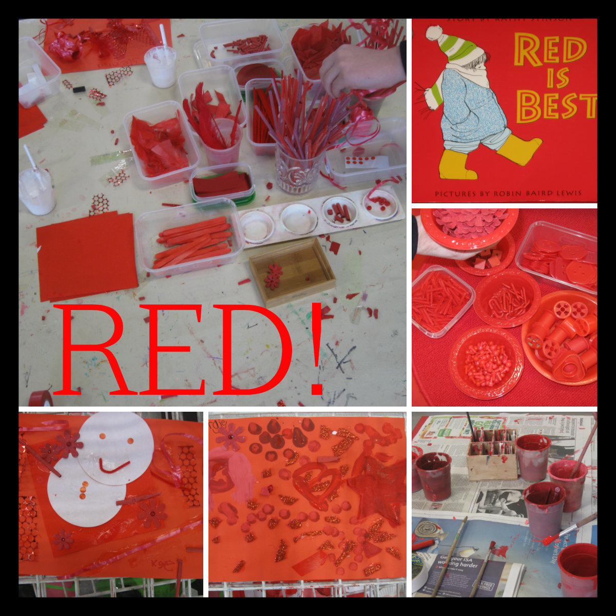 red day craft ideas s the word millfield l e a d academy 5322