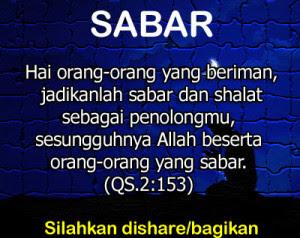 Kata Kata Bijak Islami Tentang Kesabaran Kata Kata Bijak Islam