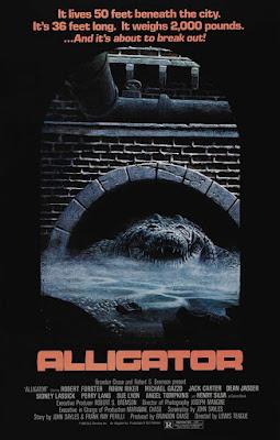Póster película La bestia bajo el asfalto - 1980