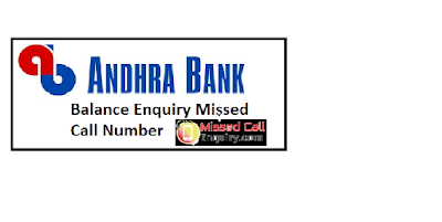 Andhra bank account statement,Andhra bank balance enquiry online