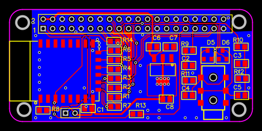 Rpiblog Design Your First Pcb With Easyeda Pcb Fab Service