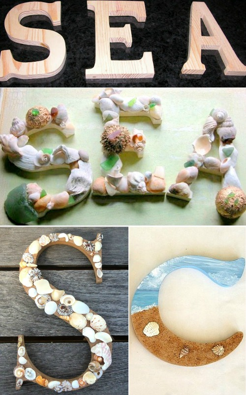 Seashell Letters