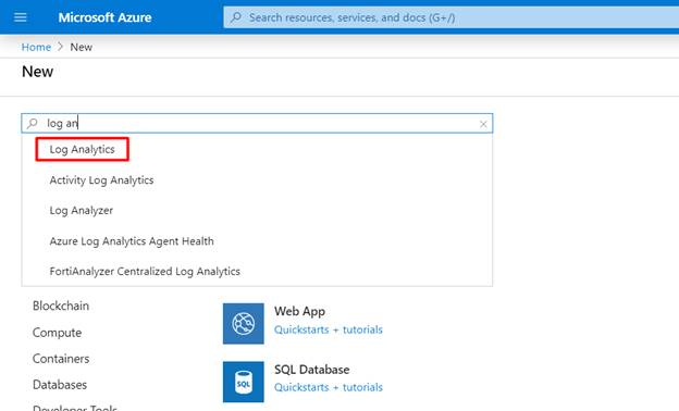 Working With Azure Log Analytics