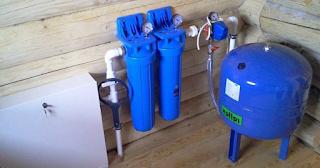 Vízellátó berendezés családi házban