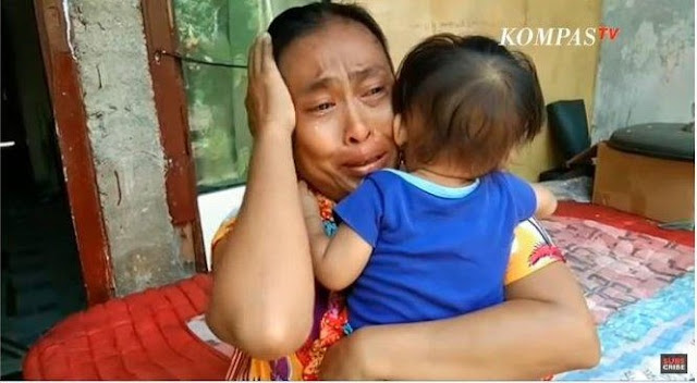 Yuli Menangis, Keluarganya Tak Makan 2 Hari Karena Diam Di Rumah Saat Corona: Hanya Allah Yang Tahu