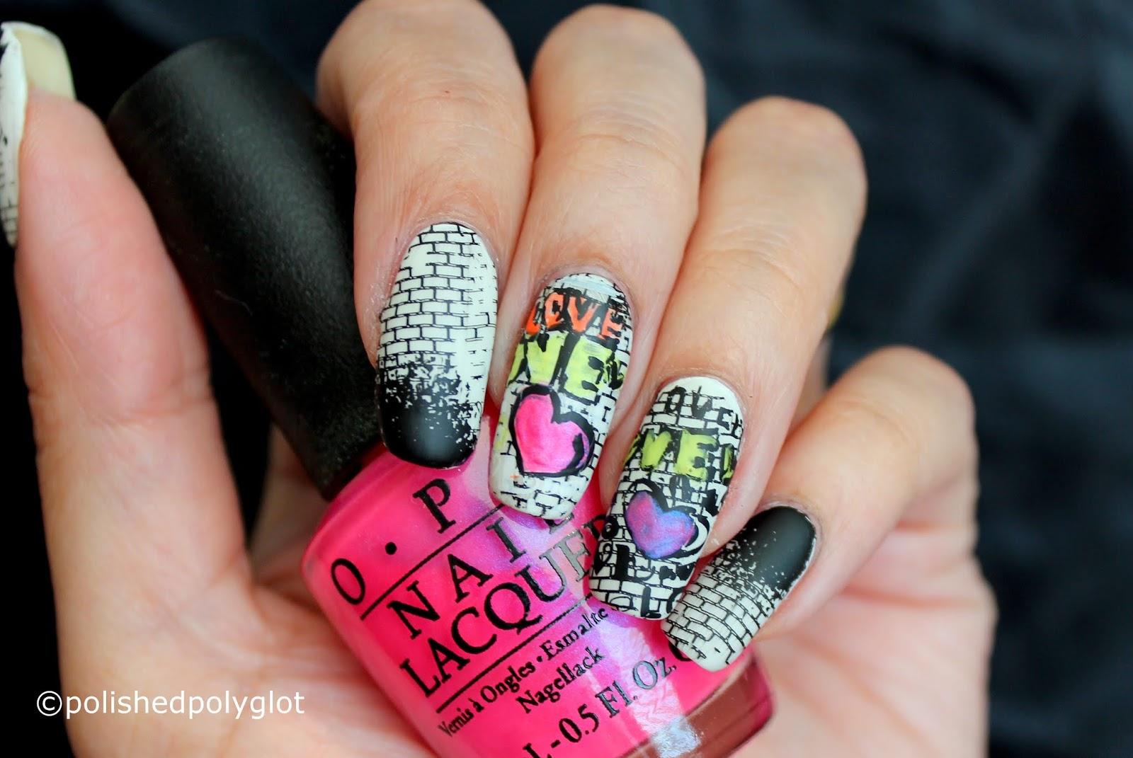Nail Art Graffiti Nails 26 Great Nail Art Ideas Polished Polyglot