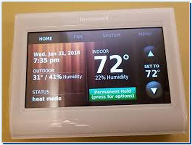 Honeywell Wifi Thermostat Dual Zone