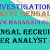 CID West Bengal Recruitment 2017 Criminal Investigation Department Computer Analyst Posts