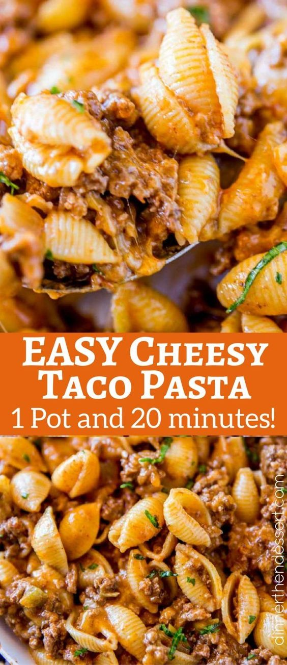 CHEESY TACO PASTA #recipes #dinnerideas #easydinnerideas #easysaturdaydinnerideas #food #foodporn #healthy #yummy #instafood #foodie #delicious #dinner #breakfast #dessert #lunch #vegan #cake #eatclean #homemade #diet #healthyfood #cleaneating #foodstagram