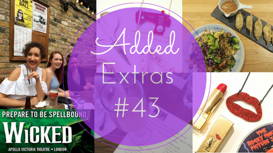 Weekly round-up from London lifestyle blogger