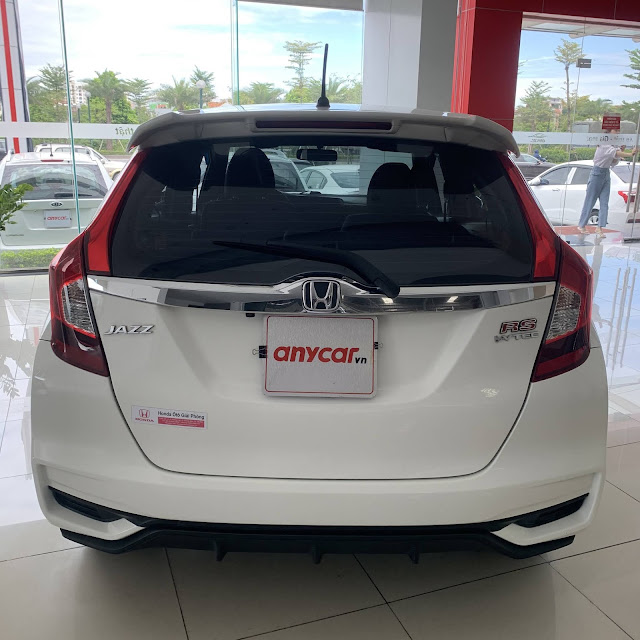 Xe cũ Honda Jazz RS 2018| Mua xe Honda Jazz 2018| Xe cũ Honda Jazz 2018 màu trắng