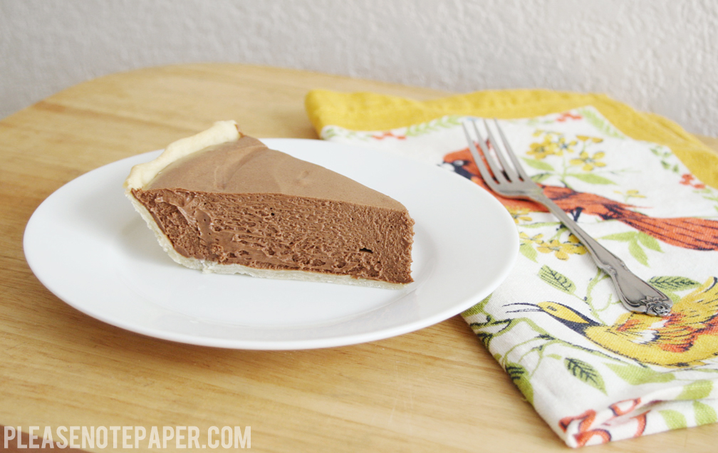 Chocolate Silk Pie America S Test Kitchen