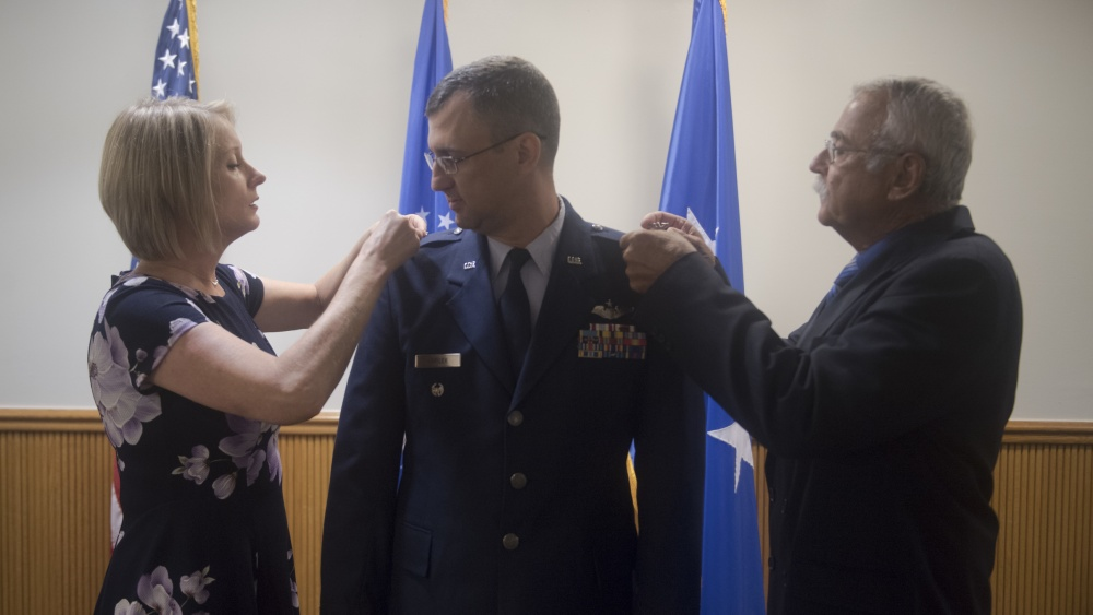 IN PICTURES: Air Force Strategic A5 director of plans and policy John Varilek becomes a colonel