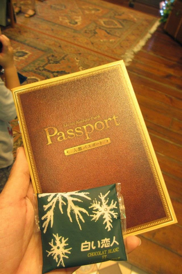 Shiroi Koibito Park Passport