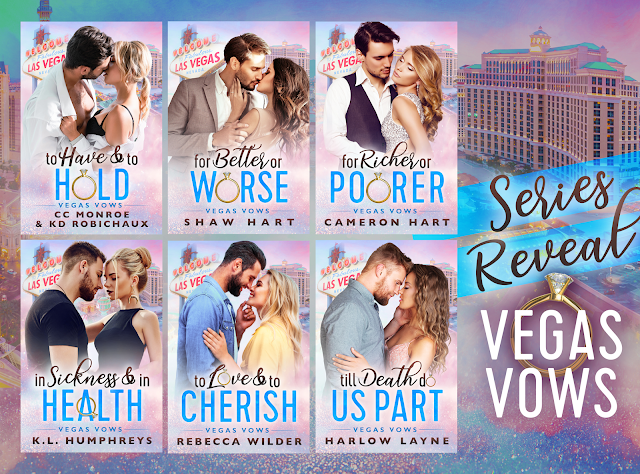 Cover Reveal:  Vegas Vow Series