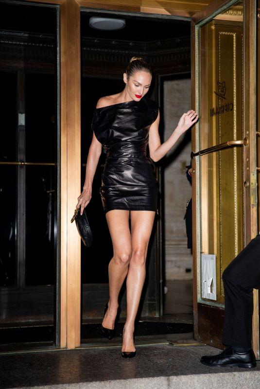 Candice Swanepoel Leaves Oscar De La Renta Fashion Show in New York 10 Sep-2019