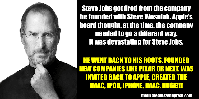 Success Stories From Famous People Who Failed Before Succeeding: Steve Jobs