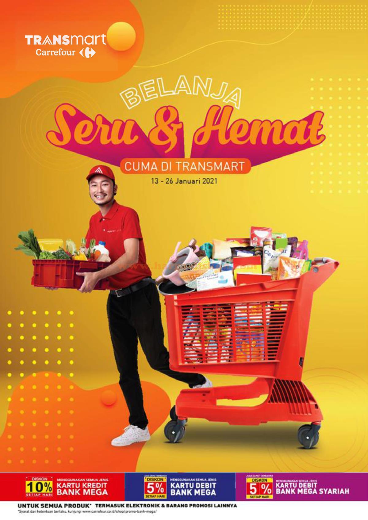 Katalog Promo Transmart Carrefour Terbaru 13 26 Januari 2021 Harga Diskon