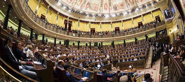 Congreso de los Diputados y separacion de poderes