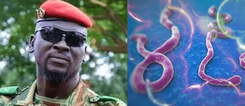 The new Guinea military leader, Col Mamady Doumbouya. All African countries will be free from Ebola and other biological weapons if ruled by the military