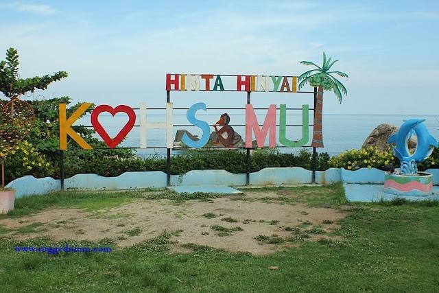 Thailand | Hin Ta & Hin Yai Rocks - 'alat sulit' di pesisir pantai