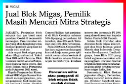 Selling Oil and Gas Blocks, Owners Are Still Looking For Strategic Partners