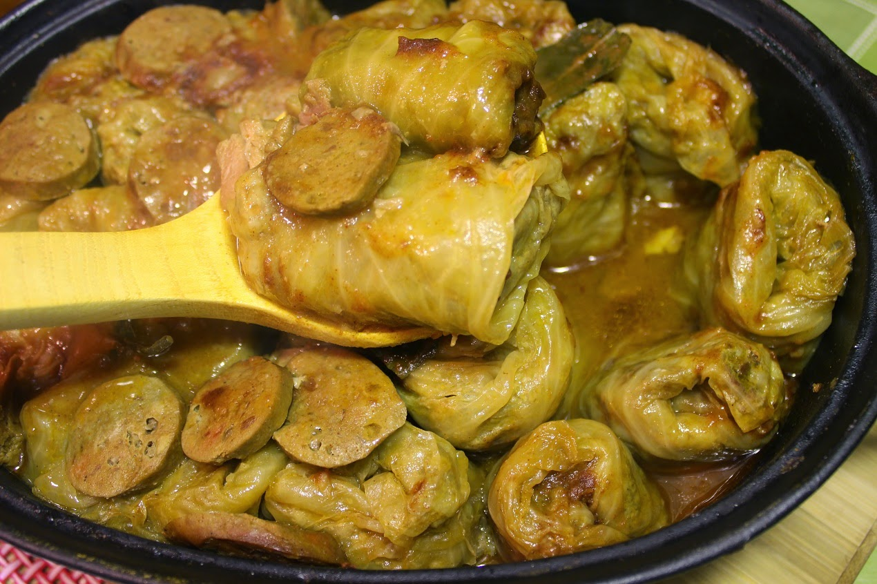 Domaca sarma recept-Cabbage recipe with sauerkraut