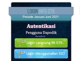 Cek Info GTK 2021