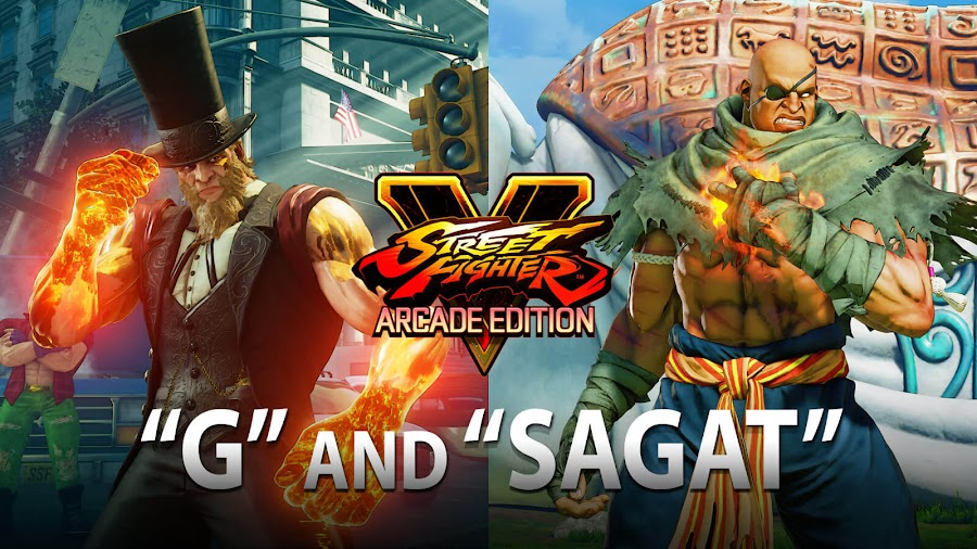 street fighter v arcade edition sagat g dlc
