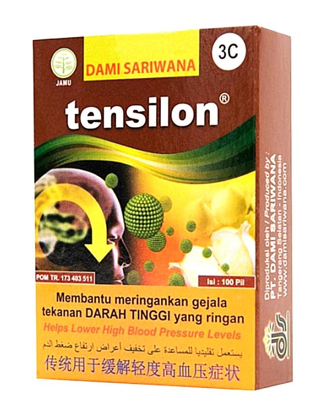 jual tensilon obat herbal darah tinggi dan hipertensi di surabaya