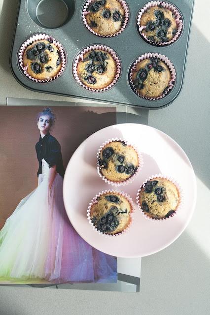 Muffin ai mirtilli, la ricetta senza burro e senza lattosio