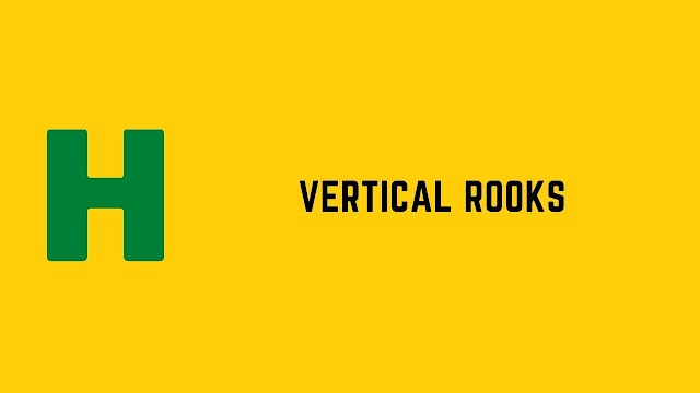 HackerRank Vertical Rooks problem solution