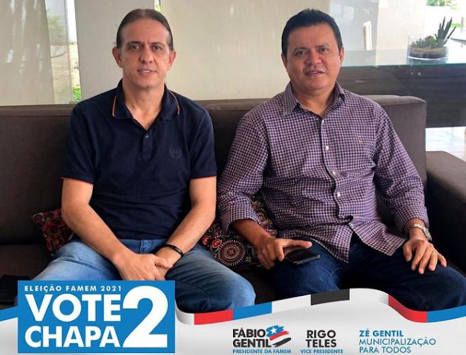 RETA FINAL - Com apoio declarado de 117 prefeitos, Fábio Gentil pode chegar a 125 adesões faltando um dia para a eleição da Famem