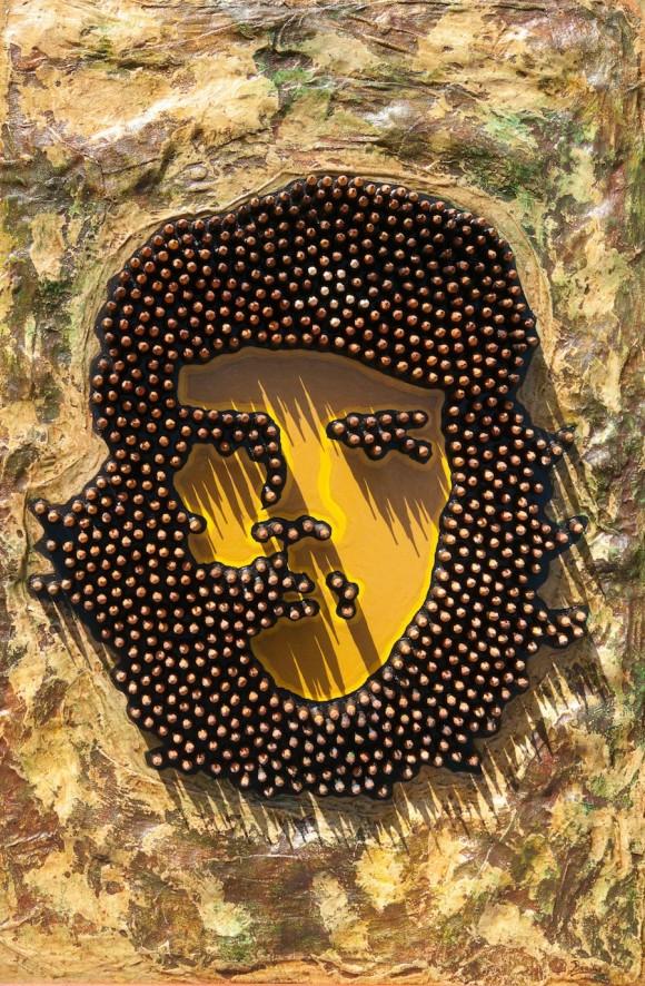 Pinturas de Che Guevara inspirados na foto de Korda
