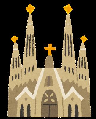 サグラダ・ファミリアのイラスト